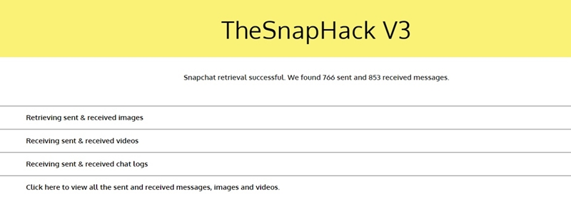 hack snapchat no download