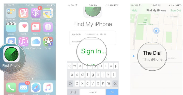 How to Track iPhone location with iPhone