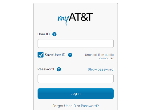 How to check at&t call log online